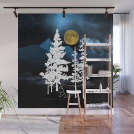 Full Moon Rising II Wall Mural