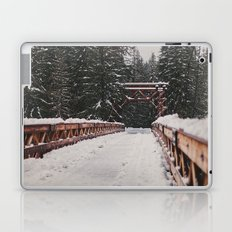 Nisqually River Suspension Bridge Laptop & iPad Skin