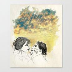 Pleasure Delayer Canvas Print