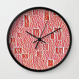 Not Knit Wall Clock