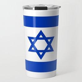 Israel Flag - High Quality image Travel Mug