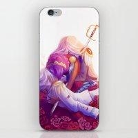 utena iPhone & iPod Skins featuring The Rose Bride by Yoccu