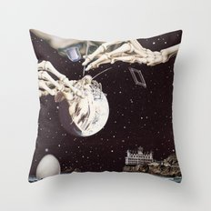 Cosmic Dead Throw Pillow