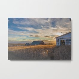 The Creepy House Property, North Dakota 5 Metal Print