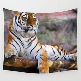 Regal Tiger Wall Tapestry