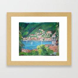 Torno, Lake of Como Framed Art Print