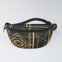 Egyptian Geometric Art Deco Design Fanny Pack