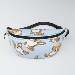 Corgi seamless pattern Fanny Pack