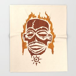 PNG AFIRE Throw Blanket