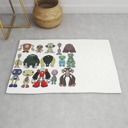 Cute Character Designs Rug