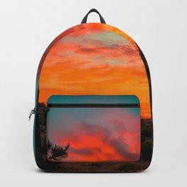 Desert sunset Backpack