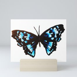 Blue Butterfly Mini Art Print