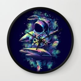 Deepest Space Wall Clock