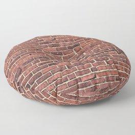 Old Brick Wall Floor Pillow