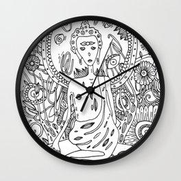 My Buddha Wall Clock