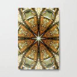 Animal Print Abstract 2 Metal Print