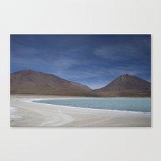 Bolivian lakes Canvas Print