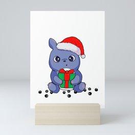 TotoroChristmas Mini Art Print