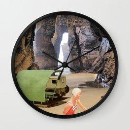 sous les rochers Wall Clock