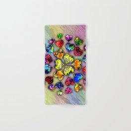 heart beat II Hand & Bath Towel