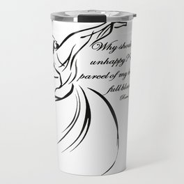 Every Parcel Of My Being Is In Full Bloom Rumi Quote Travel Mug