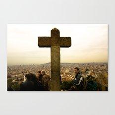 A top Barcelona Canvas Print