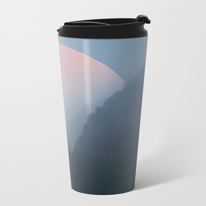 New Zealand Coast II Metal Travel Mug