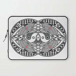 Vesica Piscis Laptop Sleeve