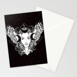 Lilith, Mistress of the Night Stationery Cards