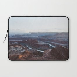Sunset at Deadhorse Point State Park Laptop Sleeve