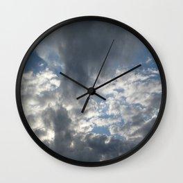 Rain Cload Wall Clock
