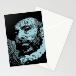 """""""Portrait of a man holding a letter"""" by Giovanni Battista Moroni Stationery Cards"""