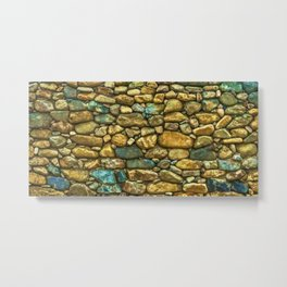 Natural Rock Wall Art Design Metal Print