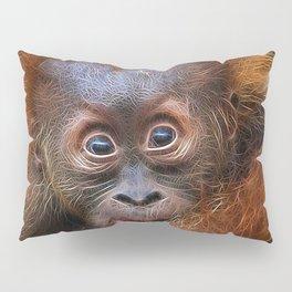 Extraordinary Animals - Orang Baby Pillow Sham