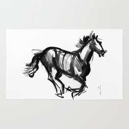 Horse (Far from perfection) Rug