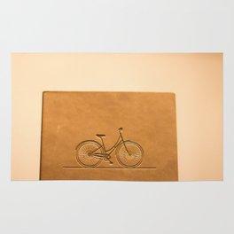 i like to ride my bicycle  Rug
