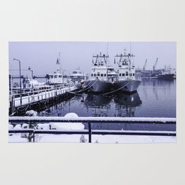 Boatyard Ushuaia - the the southernmost city in the world Rug