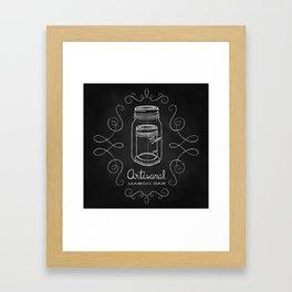 Artisanal Mason Jar Framed Art Print
