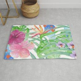 Malia's Tropical Print Rug