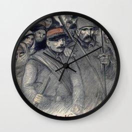 Theophile Alexandre Steinl - 25 Juin 1916, Journee Serbe - Digital Remastered Edition Wall Clock