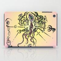 religion iPad Cases featuring Religion 2099 by DeadSuperHero