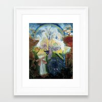 neverland Framed Art Prints featuring Neverland    by ione citrin