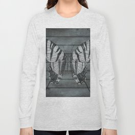Wood Butterfly Long Sleeve T-shirt
