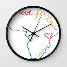 Love for Kitui Logo Wall Clock