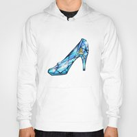 shoe Hoodies featuring Cinderella Shoe by Chris Thompson, ThompsonArts.com