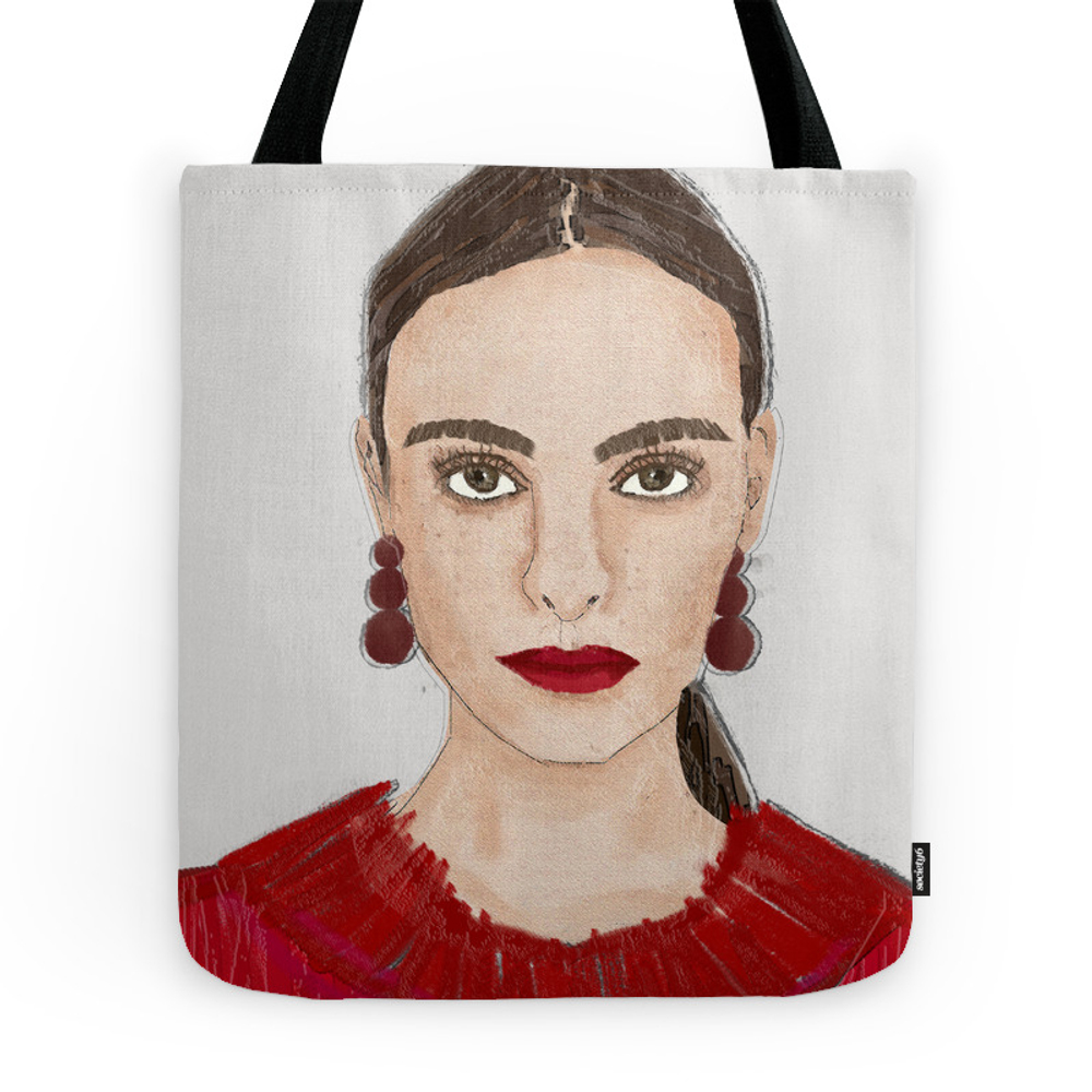 Red Lip Red Heart Red Lady Tote Purse by soistoimeme (TBG9837135) photo