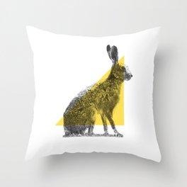 Stipple_04 Throw Pillow