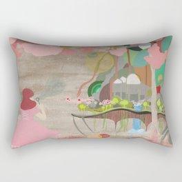 Bubblelandia Rectangular Pillow