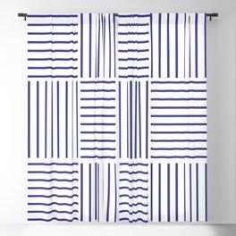 Minimal Blue Stripes #society6 #decor #buyart Blackout Curtain