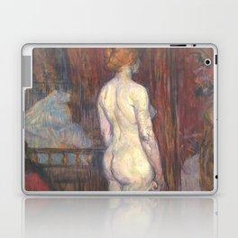 """Henri de Toulouse-Lautrec """"Woman before a Mirror"""" Laptop & iPad Skin"""